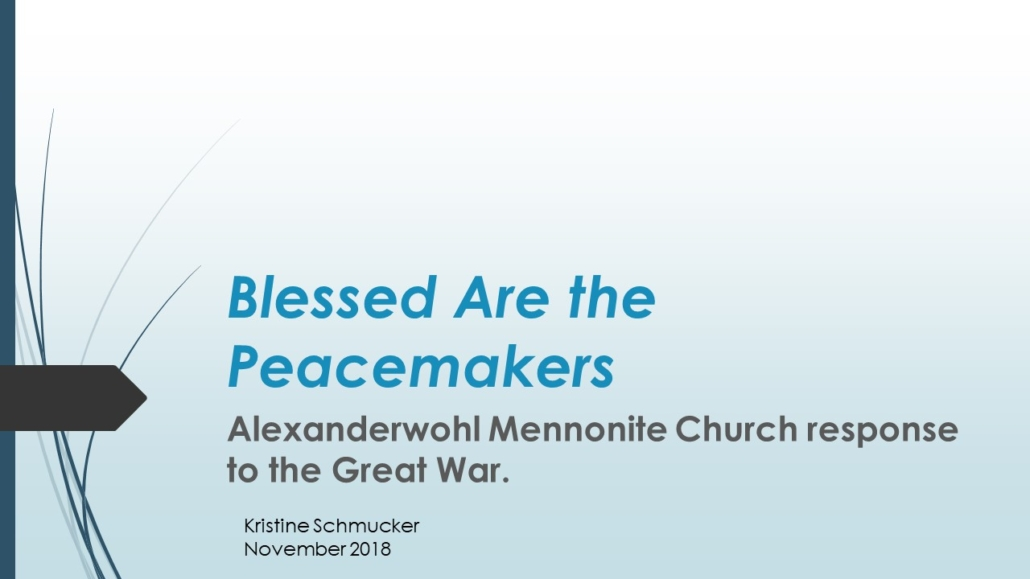 Home - Alexanderwohl Mennonite Church